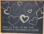 """Mysteries of Love""      Original Size: 11x14"