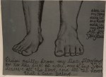 """Feet of the King""    Original Size: 9x12"
